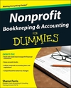 Nonprofit Bookkeeping & Accounting For Dummies (0470523417) cover image
