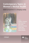 Contemporary Topics in Women's Mental Health: Global perspectives in a changing society (0470754117) cover image