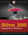 Access 2010 Programmer's Reference (0470925817) cover image