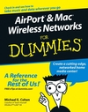 AirPort and Mac Wireless Networks For Dummies (0764589717) cover image