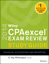 Wiley CPAexcel Exam Review 2014 Study Guide, Financial Accounting and Reporting (1118734017) cover image