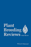 Plant Breeding Reviews Volume 39 (1119107717) cover image