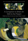 A Companion to British Art: 1600 to the Present (1119170117) cover image