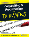 Copyediting and Proofreading For Dummies (0470121718) cover image