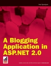 A Blogging Application in ASP.NET 2.0 (0470261218) cover image