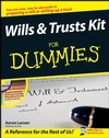 Wills and Trusts Kit For Dummies (0470283718) cover image