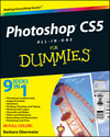 Photoshop CS5 All-in-One For Dummies (0470608218) cover image