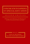 Concise Encyclopedia of Special Education: A Reference for the Education of the Handicapped and Other Exceptional Children and Adults, 2nd Edition (0471392618) cover image