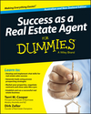 Success as a Real Estate Agent for Dummies - Australia / NZ, Australian and New Zealand Edition (0730309118) cover image