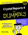 Crystal Reports 9 For Dummies (0764516418) cover image