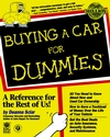 Buying a Car For Dummies (0764550918) cover image