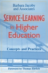 Service-Learning in Higher Education: Concepts and Practices (0787902918) cover image
