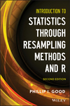 thumbnail image: Introduction to Statistics Through Resampling Methods and R, 2nd Edition