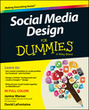 Social Media Design For Dummies (1118707818) cover image