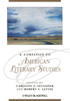 A Companion to American Literary Studies (1405198818) cover image