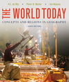 The World Today: Concepts and Regions in Geography, 6th Edition (EHEP002418) cover image