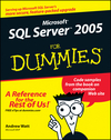 Microsoft SQL Server 2005 For Dummies (0470007419) cover image