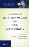 thumbnail image: Handbook of Volatility Models and Their Applications