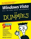 Windows Vista All-in-One Desk Reference For Dummies (0471749419) cover image