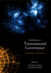 The Handbook of Transnational Governance: Institutions and Innovations (0745650619) cover image