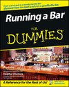 Running a Bar For Dummies (1118050819) cover image