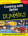 Cooking with Spices For Dummies (1118069919) cover image