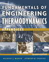 Fundamentals of Engineering Thermodynamics, Appendices , 7th Edition (1118108019) cover image