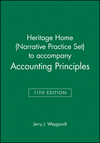 Heritage Home (Narrative Practice Set) to accompany Accounting Principles, 11th Edition (1118342119) cover image