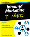 Inbound Marketing For Dummies (1119120519) cover image