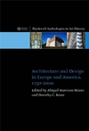 Architecture and Design in Europe and America: 1750 - 2000 (1405115319) cover image