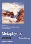 Metaphysics: An Anthology, 2nd Edition (1444331019) cover image