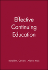 Effective Continuing Education (047062311X) cover image