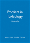 Frontiers in Toxicology, 3 Volume Set (047074961X) cover image