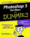 Photoshop5 For Macs For Dummies (076450391X) cover image