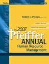 The 2007 Pfeiffer Annual: Human Resource Management (078798471X) cover image