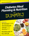 Diabetes Meal Planning and Nutrition For Dummies (111867751X) cover image