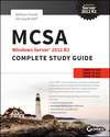 MCSA Windows Server 2012 R2 Complete Study Guide: Exams 70-410, 70-411, 70-412, and 70-417 (111885991X) cover image