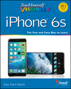 Teach Yourself VISUALLY iPhone 6s: Covers iOS9 and all models of iPhone 6s, 6, and iPhone 5 (111917371X) cover image