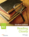 Reading Closely Student Handbook, Grades 6-12 (111919301X) cover image