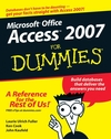 Access 2007 For Dummies (0470046120) cover image