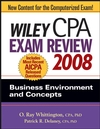 Wiley CPA Exam Review 2008: Business Environment and Concepts (0470135220) cover image