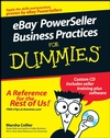 eBay PowerSeller Business Practices For Dummies (0470168420) cover image