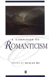 A Companion to Romanticism (0631198520) cover image