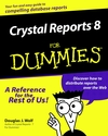 Crystal Reports 8 For Dummies (0764506420) cover image