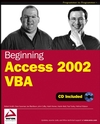 Beginning Access 2002 VBA (0764544020) cover image