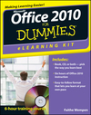 Office 2010 eLearning Kit For Dummies (1118029720) cover image