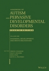 Handbook of Autism and Pervasive Developmental Disorders, Volume 1, Diagnosis, Development, and Brain Mechanisms, 4th Edition (1118107020) cover image