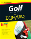 Golf All-in-One For Dummies (1118206320) cover image