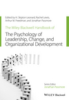 The Wiley-Blackwell Handbook of the Psychology of Leadership, Change and Organizational Development (1119237920) cover image