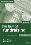 The Law of Fundraising, 2017 Cumulative Supplement, 5th Edition (1119346320) cover image